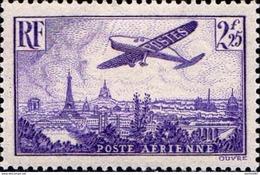Timbre De France Poste Aérienne N°10 Survol De Paris Neuf** - 1927-1959 Neufs
