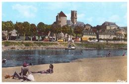 NEVERS. La Tour Goguin. Les Quais De Loire (animée) - Nevers