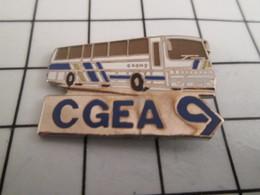 716a Pin's Pins / Beau Et Rare / THEME : TRANSPORTS / CGEA AUTOBUS AUTOCAR BUS CAR - Transports