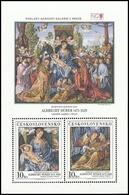 ** Czechoslovakia - 1989 - Mi. Bl. 92 - National Gallery - Durrer - Tschechoslowakei/CSSR