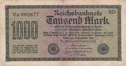 Allemagne - Billet De 1000 Mark - 15 Septembre 1922 - 1000 Mark