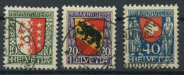 Schweiz-Switzerland-Suisse: Pro Juventute Mi 172-174 1921 Gestempelt / Used / Oblitéré - Pro Juventute