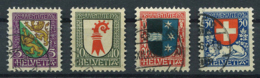 Schweiz-Switzerland-Suisse: Pro Juventute Mi 218-221 1926 Gestempelt / Used / Oblitéré - Pro Juventute