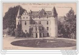 38) Virieu Sur Bourbe.- (Isère) Château De Pupetières - Virieu