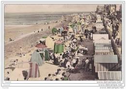 14) Saint Aubin Sur Mer.- La Plage - (+ Flamme Pub Et Oblitération De 1953) - Saint Aubin