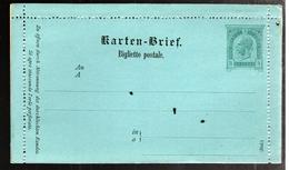 30325 - BIGLIETTO POSTALE - Entiers Postaux