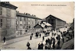 54 - BACCARAT - Sortie Des Ouvriers Des Cristalleries (carte Souple) - Baccarat