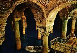 CPM AK Istanbul - The Underground Cistern TURKEY (850830) - Turquie