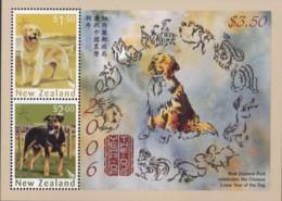 New Zealand 2006 Year Of The Dog Sc 2058a Mint Never Hinged - Ongebruikt