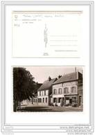 FRD27   ESSENCE 1207  AK PC CARTE PHOTO GARENNES SUR EURE/LA RUE PASTEUR/CAFE/TABAC/POMPE A ESSENCE PURFINA   TBE - Altri Comuni