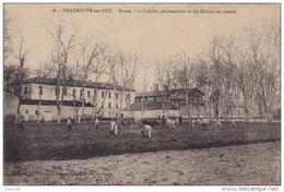 J16- 47) VILLENEUVE SUR LOT - EYSSES - LA COLONIE PÉNITENTIAIRE ET LES COLONS AU TRAVAI -  (2 SCANS) - Villeneuve Sur Lot