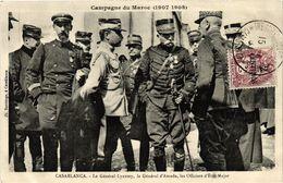 CPA AK Casablanca - Le General Lyautey - Le General D'Amade MAROC (963340) - Casablanca
