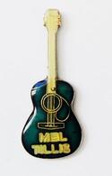 Pin's Musique Guitare Mel Tillis - R49 - Musique