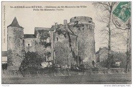 K26-79)  SAINT ANDRE SUR SEVRE - CHATEAU DE ST MESMIN LA VILLE P, RES DE ST MESMIN - France
