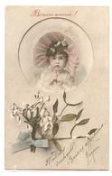 K 1910  OLD ( 1907) FANTASY  POSTCARD  , CHILDREN  , FINE ART , - Sin Clasificación