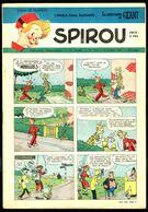 """SPIROU N° 703 - Année 1951 - Couverture """"SPIROU"""" De FRANQUIN. - Spirou Magazine"""