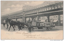 Q31- ROTTERDAM -  GED. BINNENROTTE MET VIADUCT  -  (TRES ANIMÉE - ATTELAGE CHEVAL - OBLITERATION DE 1902 - 2 SCANS) - Rotterdam