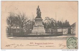R4-  HUY (BELGIQUE)  MONUMENT JOSEPH LEBEAU  (OBLITERATION DE 1901) - Huy