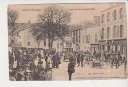 27607 PONTAUMUR Auvergne EXCURSION AUTOMOBILE CLUB - COUPE GORDON BENNETT 1905 - GRAND HOTEL CAFE LYON Circuit - Voitures De Tourisme