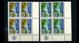 UNO NEW YORK 1964 Nr 138-39 4er Block Postfrisch (74462) - ONU