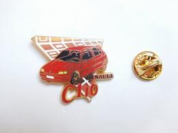Arthus Bertrand , Auto Renault Clio , Fond Or - Arthus Bertrand
