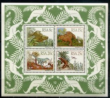 Südafrika Mi# Block 14 Postfrisch/MNH - Fauna Pre-historic Reptiles - Zonder Classificatie