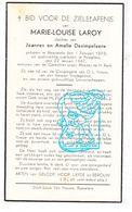 DP Maria L. Laroy Leroy / Desimpelaere ° Moorsele Wevelgem 1873 † Roeselare 1947 - Images Religieuses