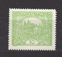 Czechoslovakia 1920 MNH ** Mi 25 C Sc 43a Hradschin Gezähnt 13 ¾ .Hradcany At Prague. Tschechoslowake C4 - Tchécoslovaquie