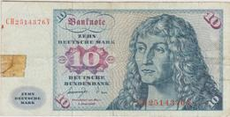 Allemagne - Billet De 10 Mark - Albrecht Dürer - 1er Juin 1977 - P31b - 1949-…: BRD