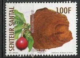 Polynésie Française - Polynesien - Polynesia 2016 Y&T N°1119 - Michel N°(?) (o) - 100f Senteur Santal - Polynésie Française