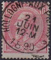 N° 46 Oblitération HOLLOGNE-AUX-PIERRES - 1884-1891 Leopold II