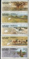 Südafrika Mi# 962-6 Postfrisch/MNH - Fauna Elephants + Landscapes - Afrique Du Sud (1961-...)