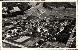Cp Cressier Kanton Freiburg Fribourg, Fliegeraufnahme - FR Fribourg