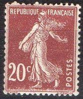 FRANCE ( POSTE ) : S&P N° 139  TIMBRE  NEUF  SANS  TRACE  DE  CHARNIERE ,  A VOIR . R 7 - 1906-38 Semeuse Camée