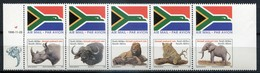 Südafrika Mi# 993-5 DF Imperforated Postfrisch/MNH - Fauna Big 5 - Non Classés