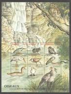 PK116 REPUBLIQUE CENTRAFRICAINE ET ALENTOURS BIRDS OISEAUX 1SH MNH - Birds