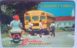 163CCIA School Bus Cayman Brac CI$10 - Cayman Islands