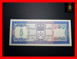 NETHERLANDS ANTILLES 5  Gulden 1.6.1984  P. 15 B  UNC - Antilles Néerlandaises (...-1986)