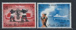 Somalie Italienne YT PA 79-80 XX / MNH - Somalie