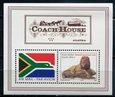 Südafrika Mi# Block 62 Media Release Postfrisch/MNH - Fauna Lion - Non Classés