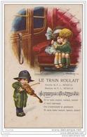"""Illustrateur A. BERTIGLIA - Chanson """""""""""""""""""""""""""""""" Le Train Roulait """""""""""""""""""""""""""""""" - (Enfant - Violon) - Bertiglia, A."""