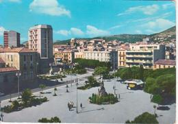 IGLESIAS - PIAZZA QUINTINO SELLA - ANIMATA - EDICOLA GIORNALI - VIAGGIATA 1967 - Iglesias