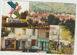 Loire : LA  TALAUDIERE :  Vues  2001 , Librairie , Voiture  BMW - France