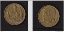 Exposition Coloniale Internationale De Paris 1931 - Afrique - Desvignes - Cuivre (poinçon Corne) - France
