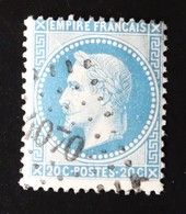 PC 4070 Sur 20c Napoléon III N° 29 YT - 1849-1876: Classic Period
