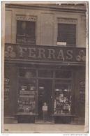 31) TOULOUSE - CARTE PHOTO - DEVANTURE DE LA COUTELLERIE FERRAS - 40 ,  RUE DE METZ - (2  SCANS + 1 POUR LOCALISATION) - Toulouse