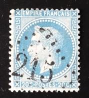 GC 215 Sur 20c Napoléon III N° 29 YT - 1849-1876: Classic Period