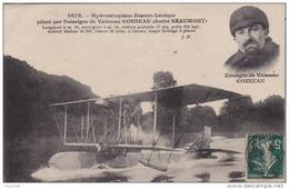 AVIATION  - HYDROAEROPLANE DONNET LEVEQUE PILOTE VAISSEAU CONNEAU (ANDRÉ  BEAUMONT) - ....-1914: Précurseurs