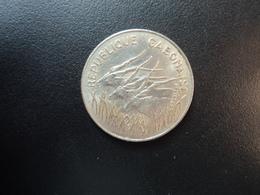 GABON : 100 FRANCS   1982    KM 13      SUP - Gabón