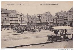 A13 - 50) CHERBOURG  - LE  MARCHE  - (ANIMÉE - 2 SCANS) - Cherbourg